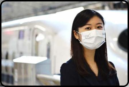 【JR東海】「N700Sオリジナルマスク」発売へ 繰り返し使用可能 1枚約230円で鉄道の日に発売
