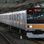【衝撃】ダイヤ乱れの影響で中央線209系が「通勤快速大月行」に 東京では運用差し替えられず