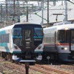 【衝撃】E257系2500番台NC-32編成が三島を超えて静岡方面に ムーンライト存続か?