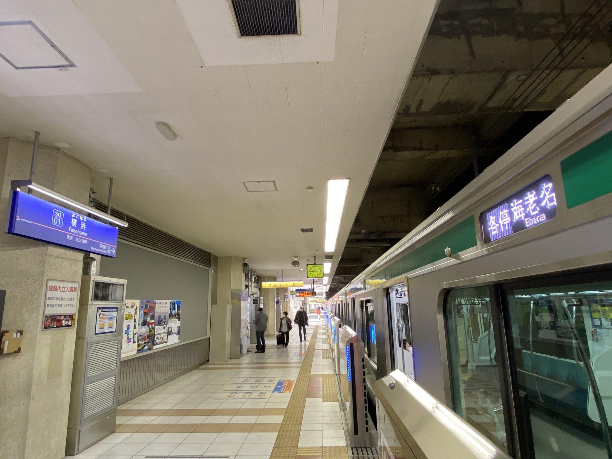 【一体なぜ】埼京線E233系ハエ131編成が「相鉄横浜」に入線 朝から55運用に入りJRの車両なのに相鉄線内のみを走行