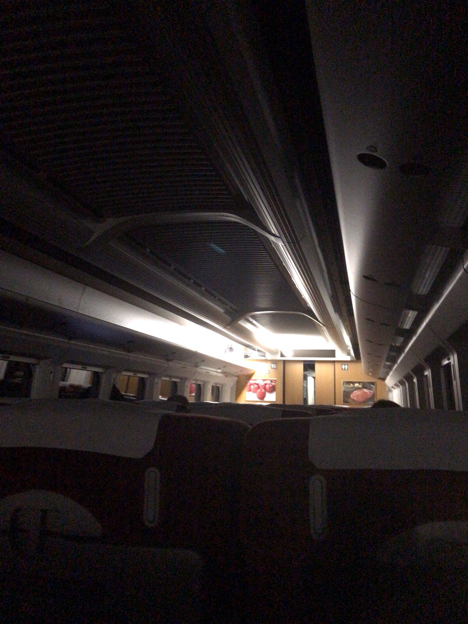 【何事?】走行中の東北新幹線が突如停電し緊急停車 複数の車両が一斉に 一体何があったのか