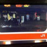 【JR東日本】武蔵野線で運転室に5人も乗務 異様な光景が注目される
