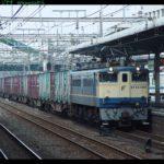 【常磐線快速】車両故障で運転見合わせ EF65機関車試運転列車から発煙