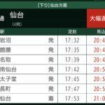 【東北本線】寺堀踏切での人身事故で3時間以上の遅れが 仙台発品川行「ひたち30号」は勝田で運転打ち切りに