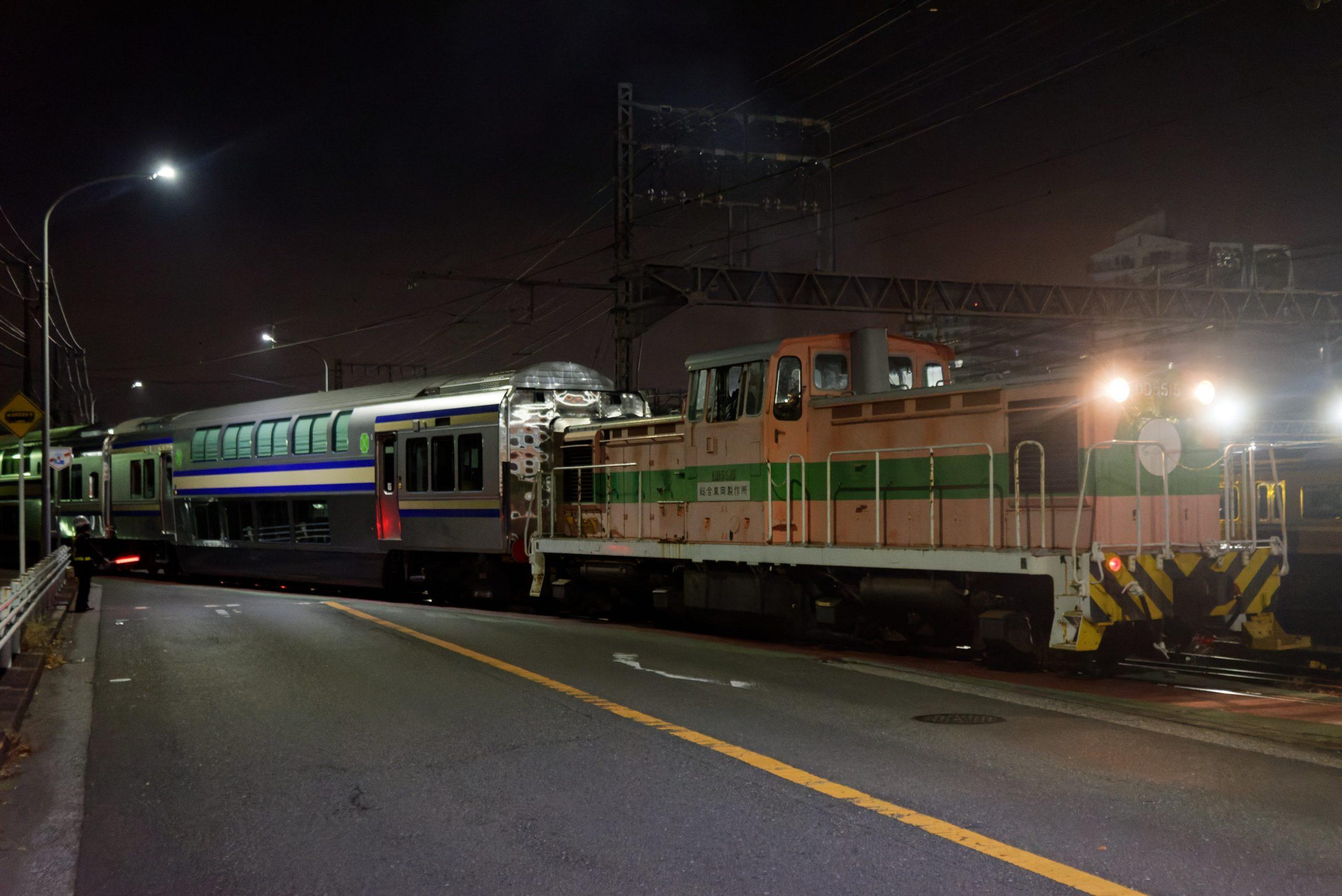 【横須賀・総武快速線】E235系1000番台F-06・F-07編成のグリーン車がJ-TREC横浜から出場