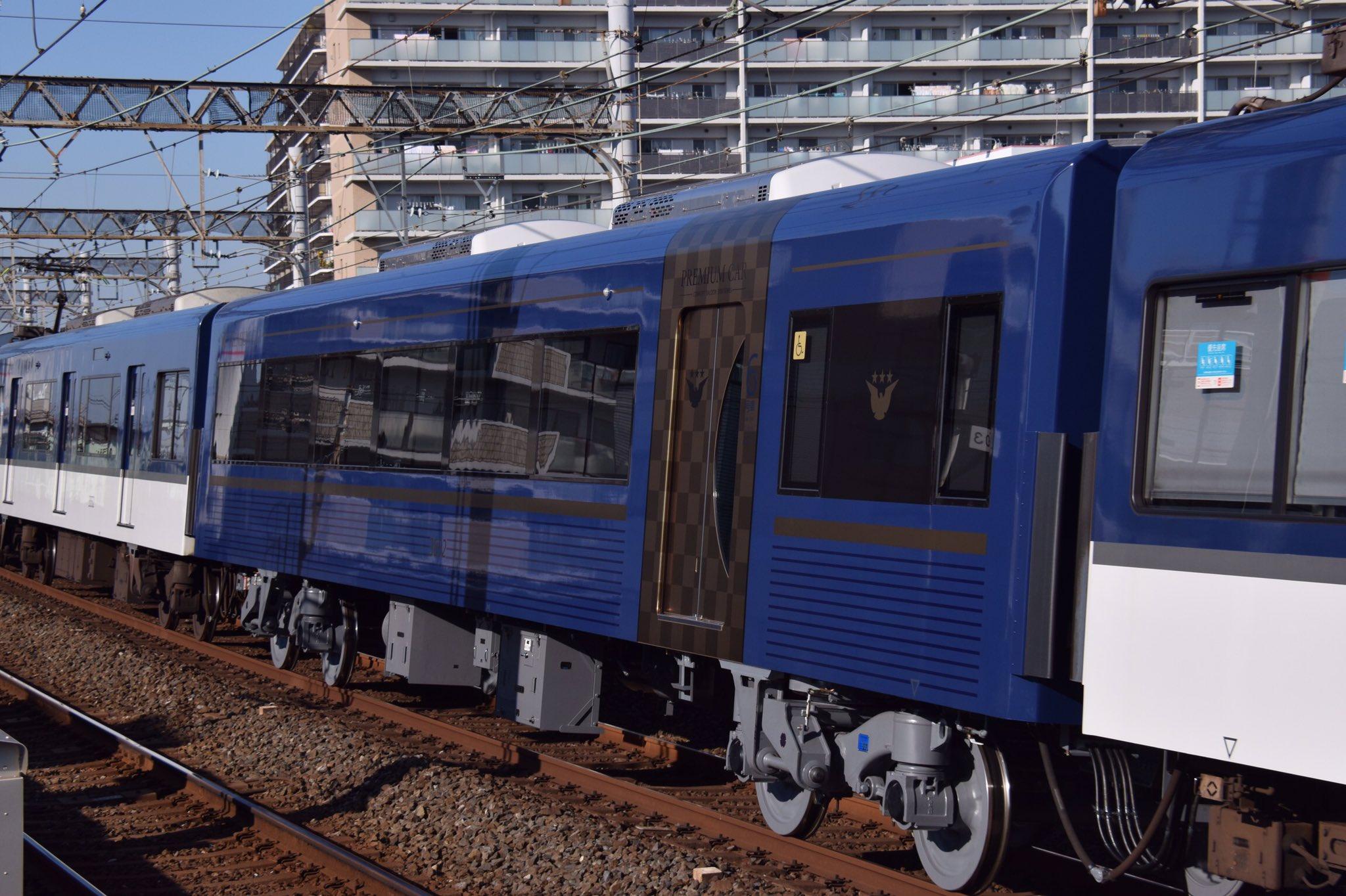 【京阪電鉄】3000系3002Fにプレミアムカーを組み込み試運転が行われる