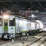 【キヤ導入】キハ110系3両が上越線に続き高崎線籠原駅に入線 深谷駅で入換訓練