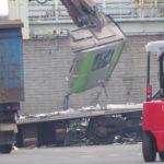 【もったいない】元山手線E231系余剰車両を解体 製造から9年しか使わず廃車 部品取りもせず
