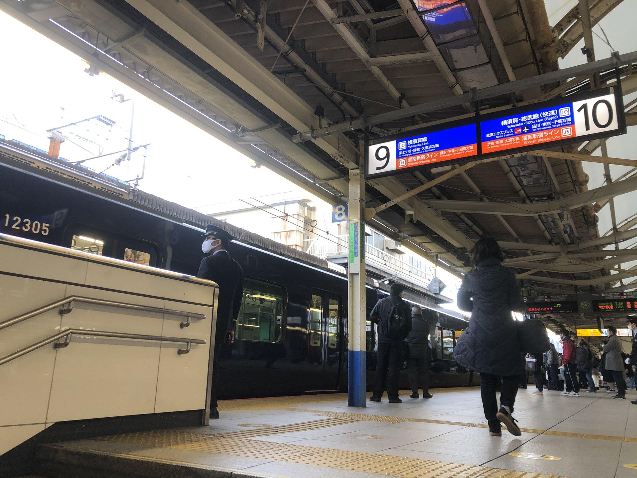 【珍事】相鉄12000系がJR横浜駅横須賀線ホームに入線 ポイント故障で相鉄線に入れず