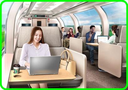 【ついに個室復活も失敗?】東北新幹線などに導入?リモートワークを推進