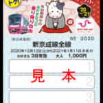 【新京成】1日約300円で乗り放題「乗りトク!年末年始おでかけきっぷ発売」