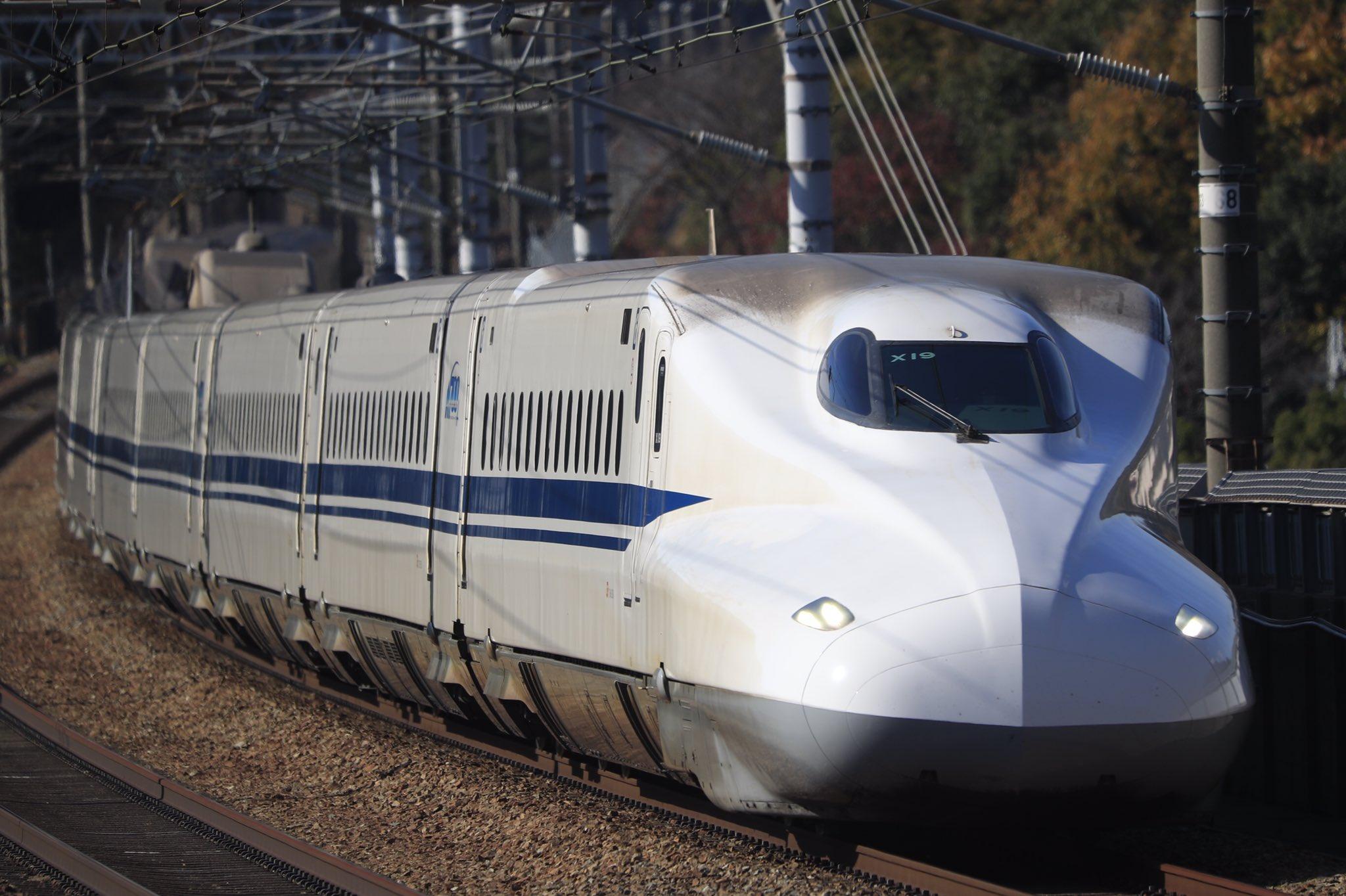 【2021年初の廃車】N700系X19編成廃車回送 量産車としては7本目
