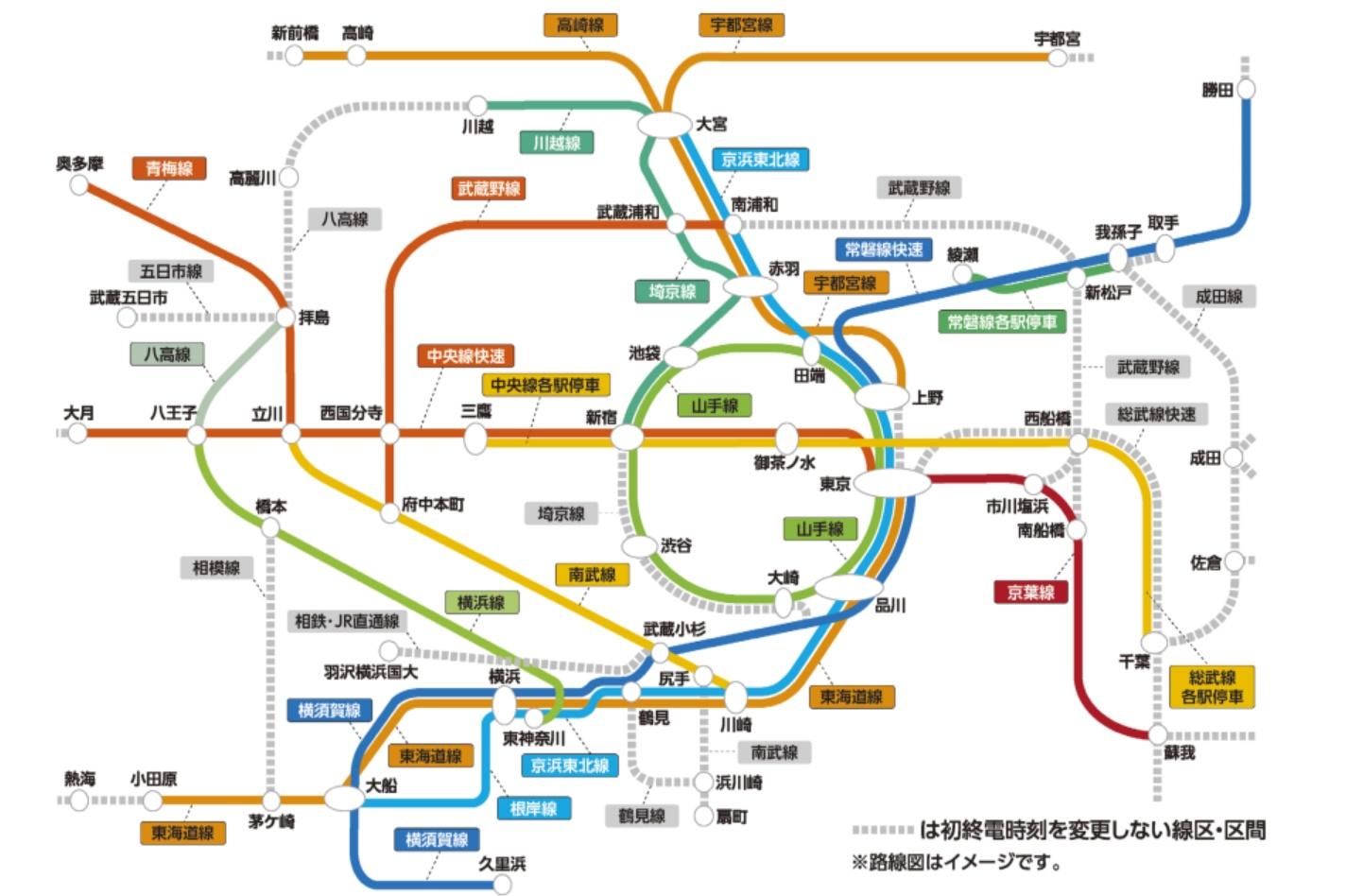 【JR東日本】3月に実施予定だった終電繰り上げを来週以降に前倒し 1都3県の知事が要請 E131系投入はどうなるのか?