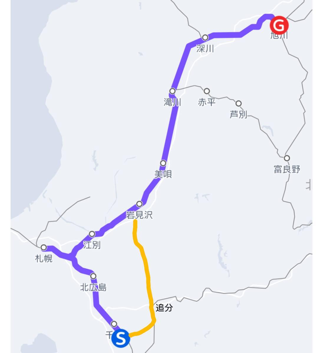 JR北海道・北海道エアポートが旭川駅~新千歳空港駅を結ぶ直通列車を計画 追分経由で1時間30分