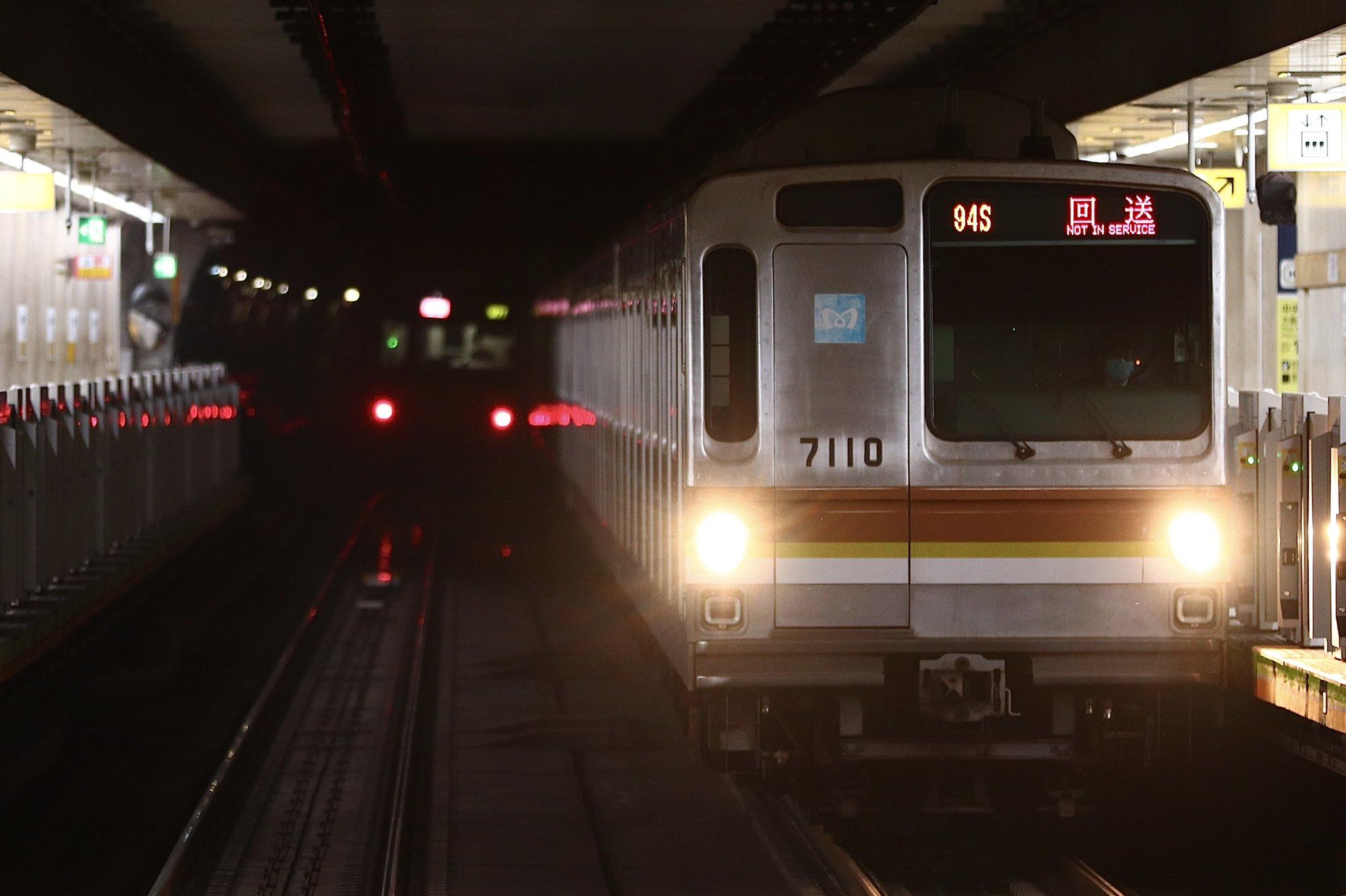 東京メトロ7000系の廃車が「再開」 7110F運用離脱