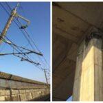 【復旧まで10日前後】東北新幹線被害状況 架線柱折損や橋脚にひび割れ