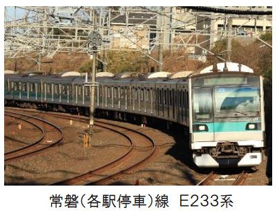 JR東日本、初の常磐線各駅停車に自動運転装置を使用開始 2021年3月13日ダイヤ改正から