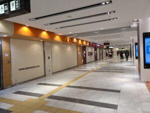 京都駅周辺の人出は少なく 新型コロナで外出自粛影響か