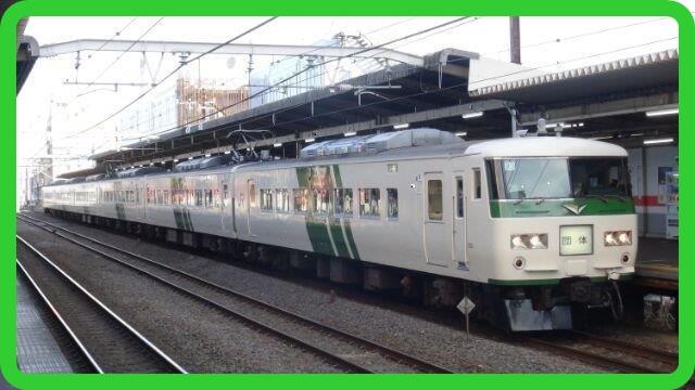 185系が池袋~木更津で運転 (2021年5月16日運転)