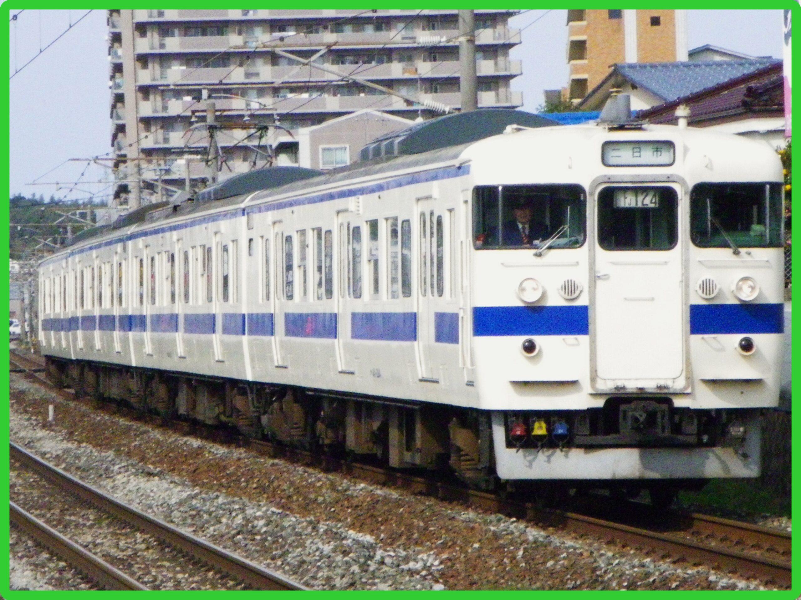"""415系""""小倉~宮崎""""日豊本線縦断号運転(2021年4月24~25日)"""