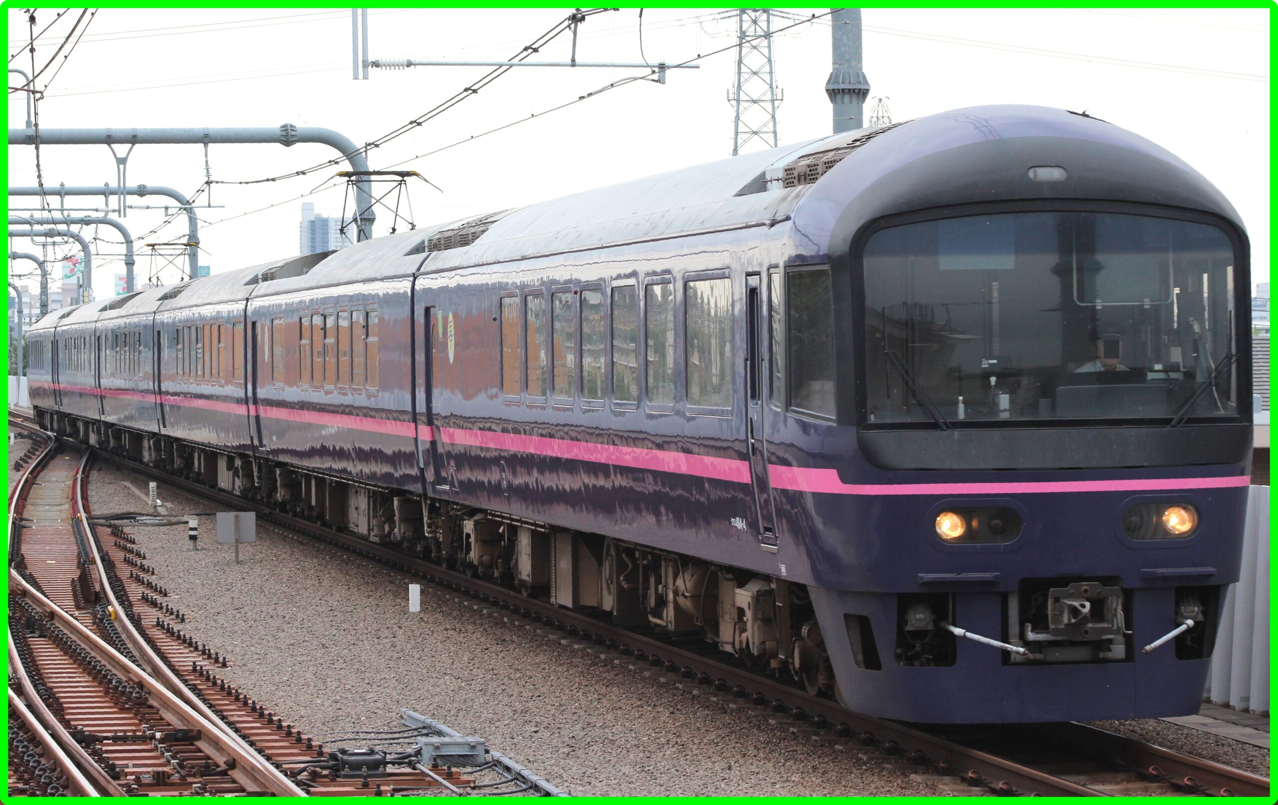 上野~横川で485系華が運転 クラブツーリズム団体臨時列車