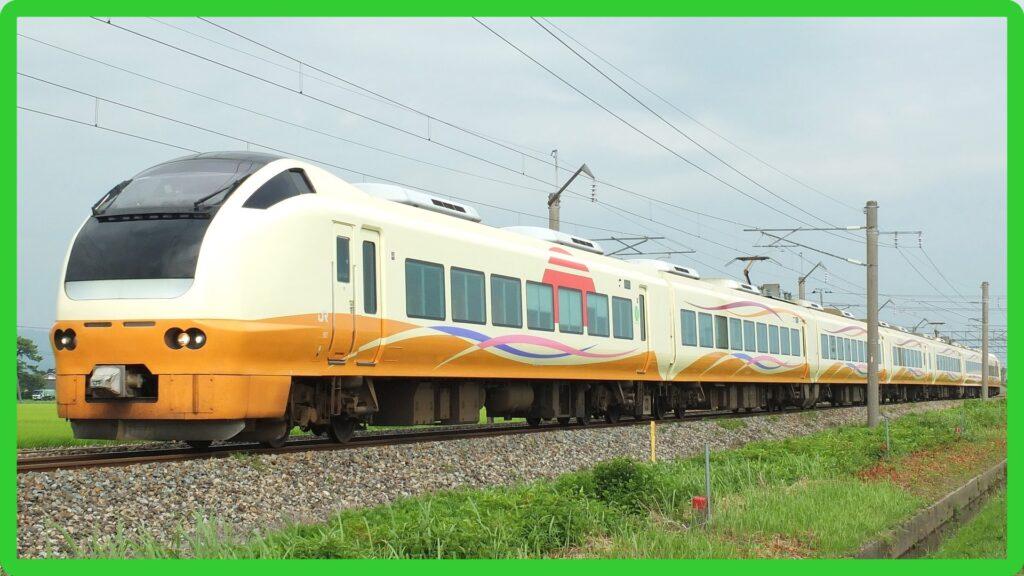 E653系U101編成が大宮に回送 那須塩原~仙台の臨時快速列車に使用か