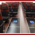 """北陸新幹線""""E7系""""『車いす用フリースペース』設置 21年7月"""