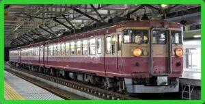 413系急行色が現れる えちごトキめき鉄道譲渡車両