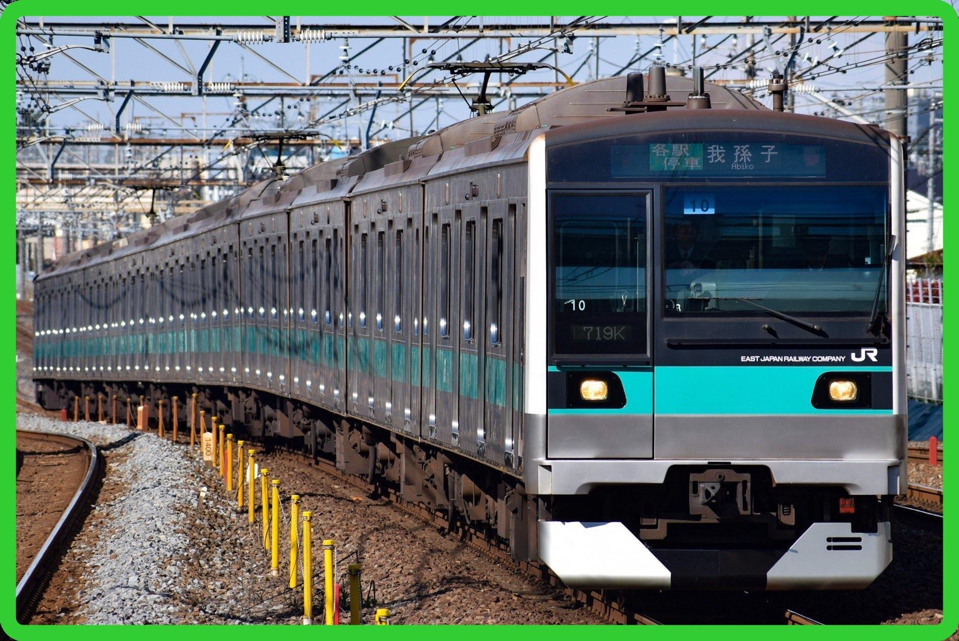 常磐線E233系2000番台マト8編成が長野総合車両センターに回送 ワンマン化改造のため