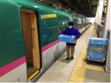 JR東日本、駅弁・アスパラガス・鮮魚新幹線運転