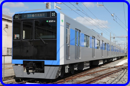 【近畿車輌甲種輸送】都営6500形6502Fが出場 越谷貨物ターミナルに向け出発