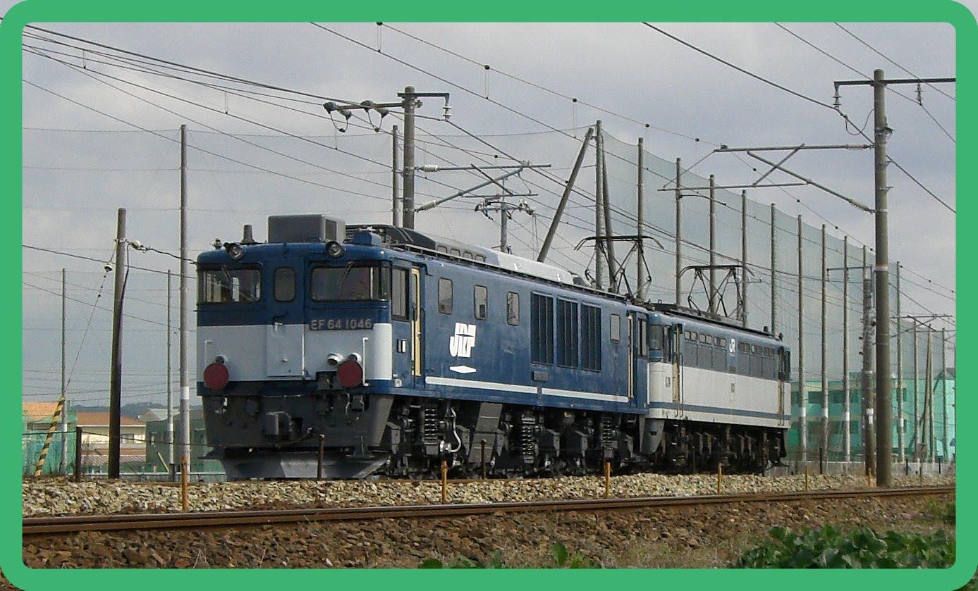 【広島更新色消滅か】EF64-1046がOM入場へ