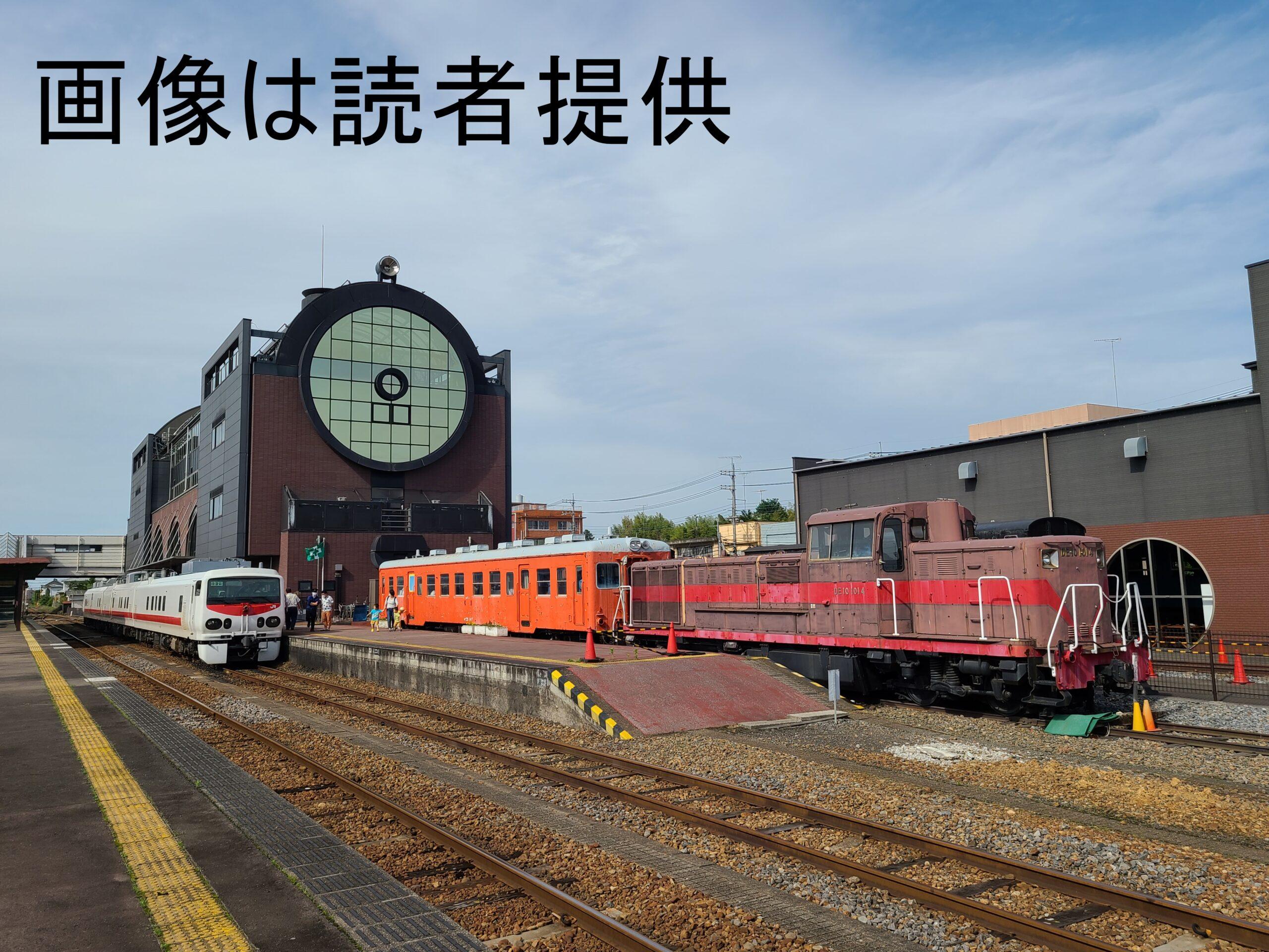 【真岡鐡道にJR東日本車両】E193系East-i-Dが軌道検測