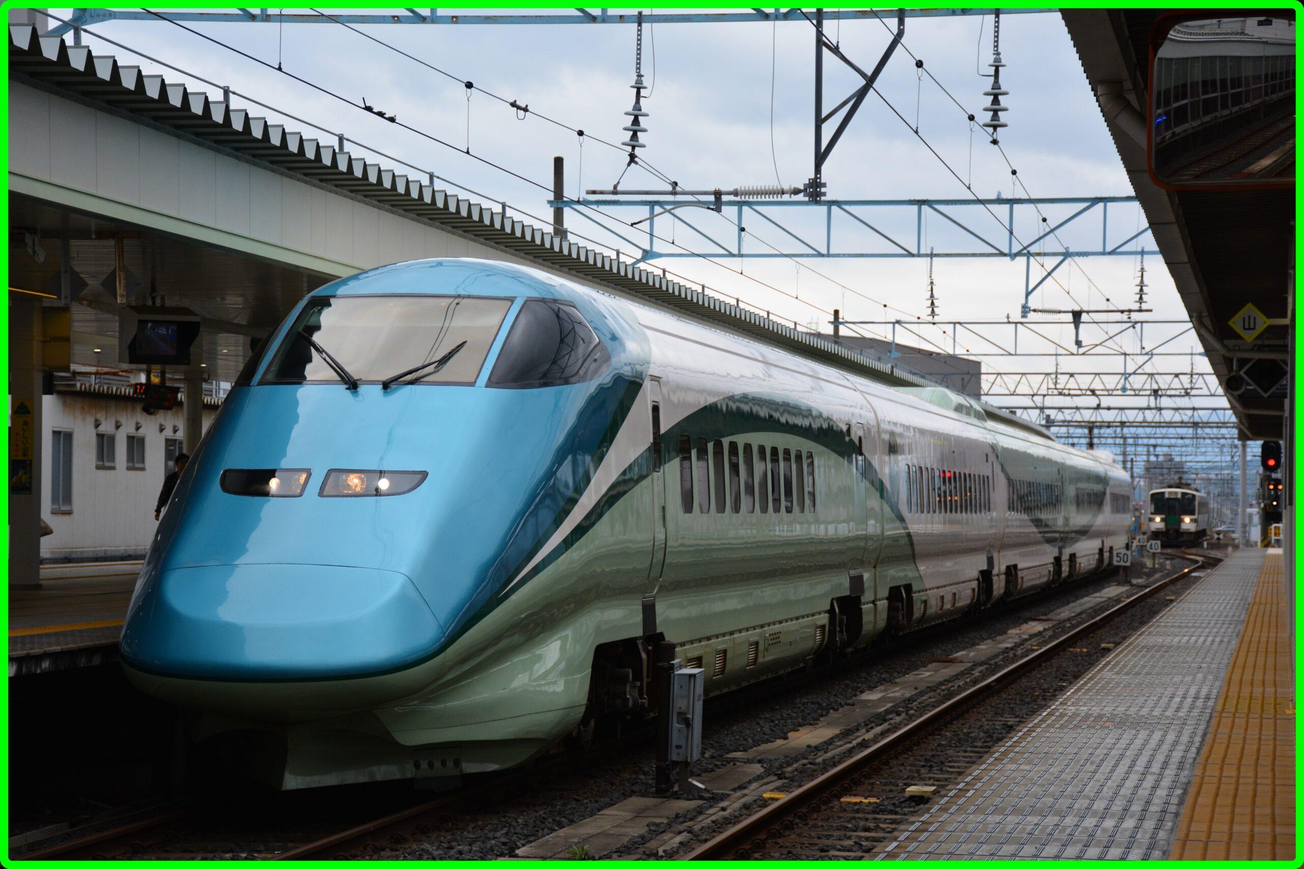 足湯新幹線「とれいゆつばさ」 2021年夏運転日・時刻表・まとめ