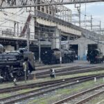 【まるで国鉄】大宮に蒸気機関車が大集合 3重連も