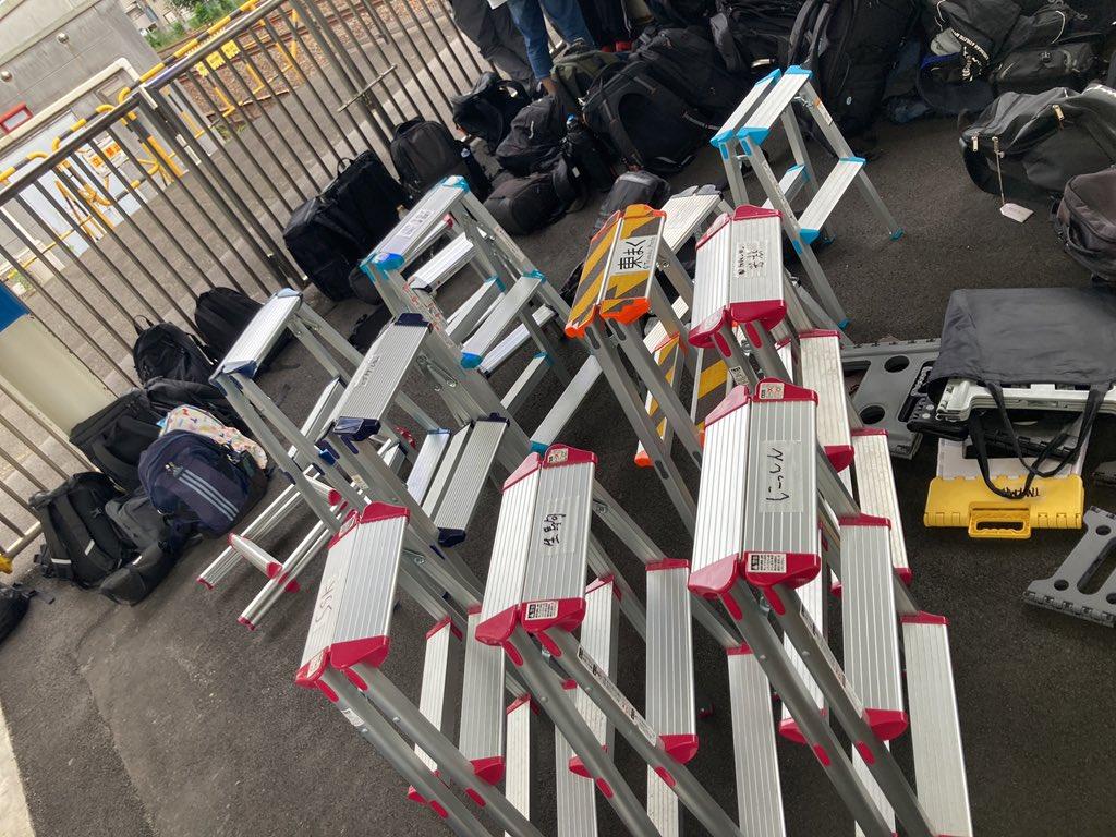 【脚立全面禁止】川口駅が70人越えの撮り鉄で大混乱 1ヶ月ぶりのカシオペア狙いか