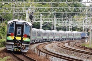 【初の釧路所属】JR北海道H100形×12両甲種輸送