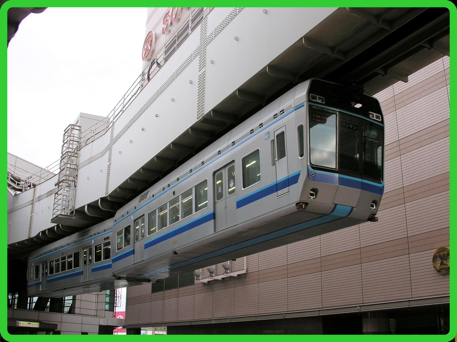 千葉都市モノレール1000形2028年までに引退 0形車両で全編成が置き換え・廃車へ