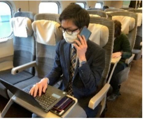 JR東日本オフィス・リモート車両実験継続へ はやぶさ号1号車で実施へ