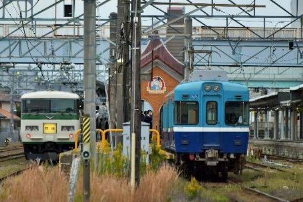 185系「ぐるっと北総水郷」運転(2021年9月11日・12日)