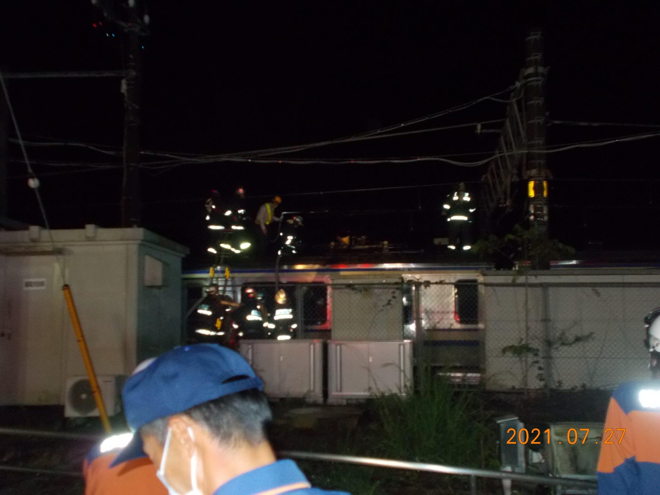 【自走不可】下総神崎でE217系Y-115編成が炎上 疎開中のY-18編成が救護 廃車順序に影響か
