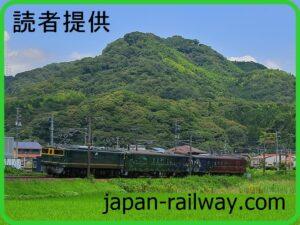 ○○のはなし京都鉄博→下関まで返却回送が行われる(2021年7月11日)