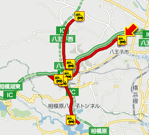 【小仏トンネルで2カ所事故】中央道下りで追突事故が発生