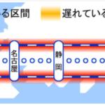 【史上初か!10年ぶり前代未聞ダイバート(引き返す)】東海道新幹線終日運転見合わせが決定 大雨の影響で不通に