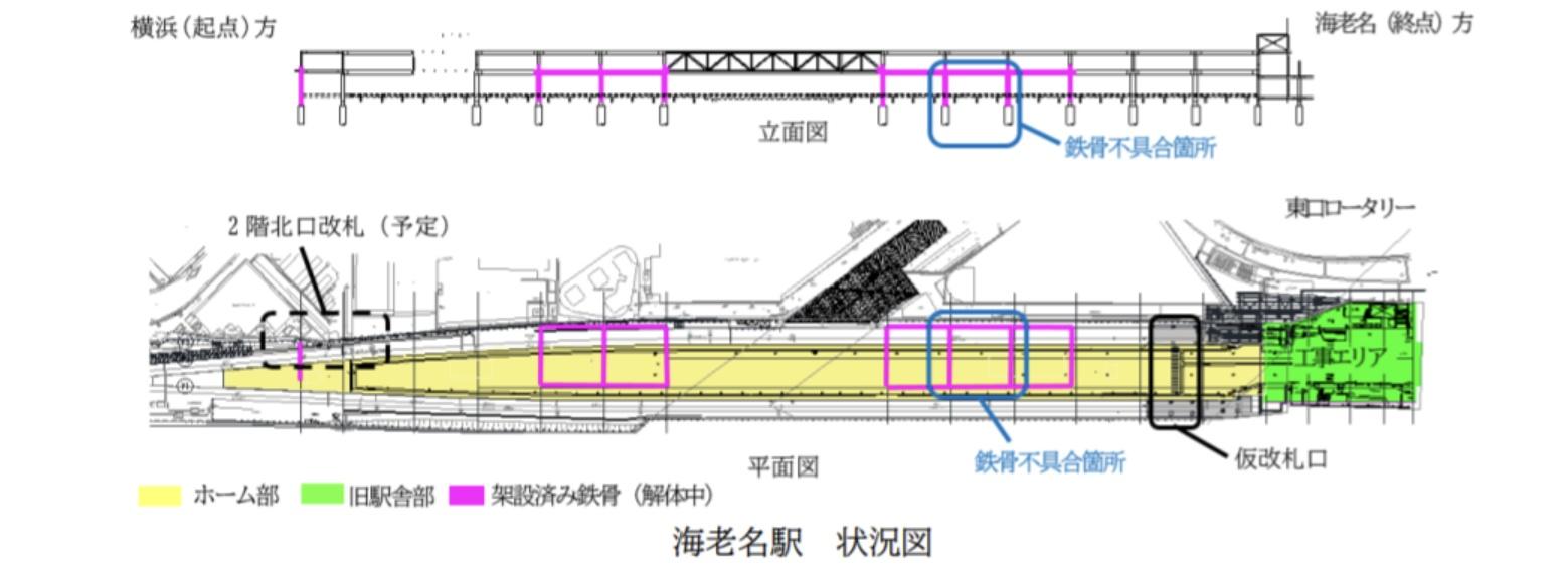【相鉄が東急にブチ切れ】海老名駅改良工事で基礎杭が沈下 施工記録に不正か