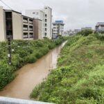 【川みたい】中央東線下諏訪周辺の線路が水没 ガソリンの供給が困難に