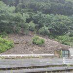 中央西線の複数箇所で大規模な土砂崩れ