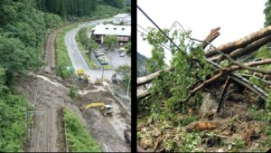 【JR東海運転計画】中央西線・飯田線で甚大な被害 早期運転再開は絶望的に
