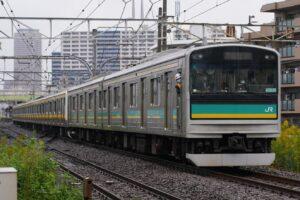 【5時間半運転見合わせ】南武線205系が故障 自走不能で233系が救護回送 川崎駅に入線