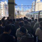 【E233系ごときで騒ぎに】臨時列車撮影のため鉄道ファンが恵比寿駅で車掌の業務妨害 駅員激怒